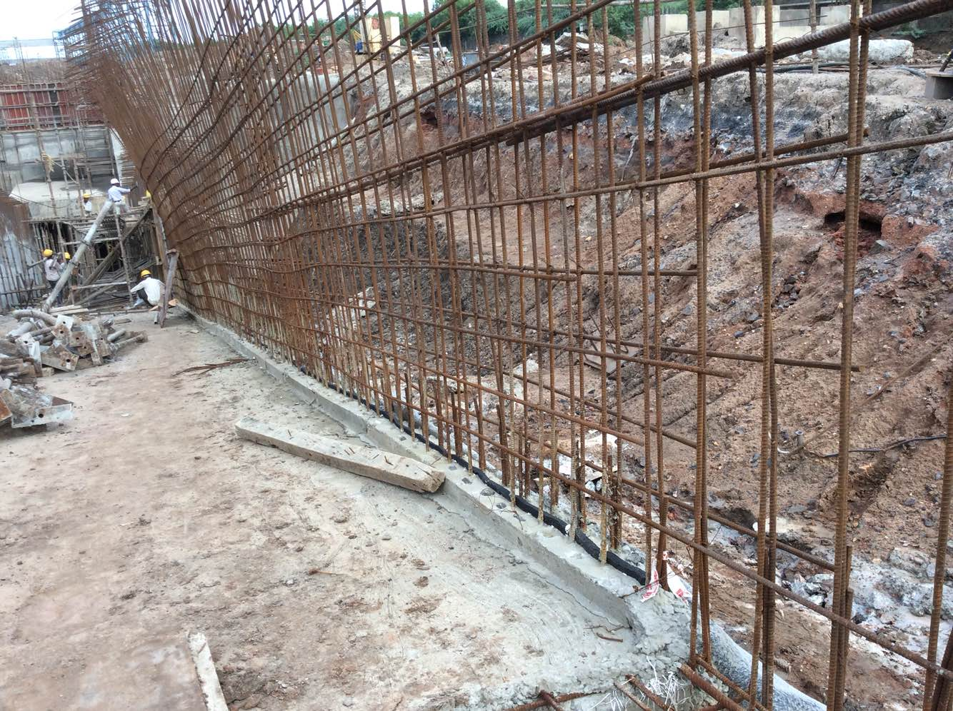 Rcc Wall Construction : Wall rcc thickness arkal building solutions in chennai