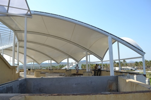 Tensile Fabric Structures Manufacturers In Delhi