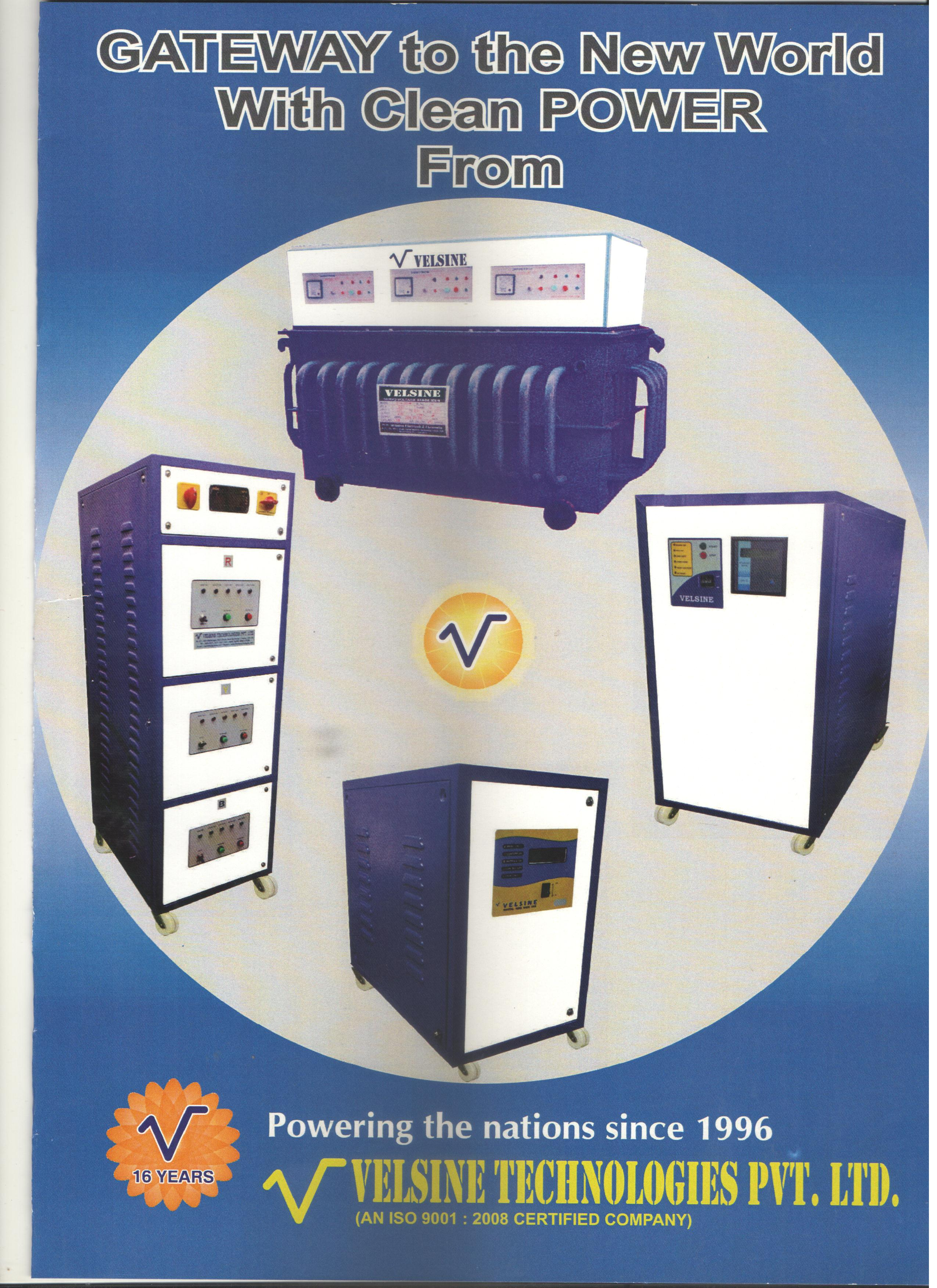 new oil cooled , stabilizer, ups , inverter , battery, cvt in good price