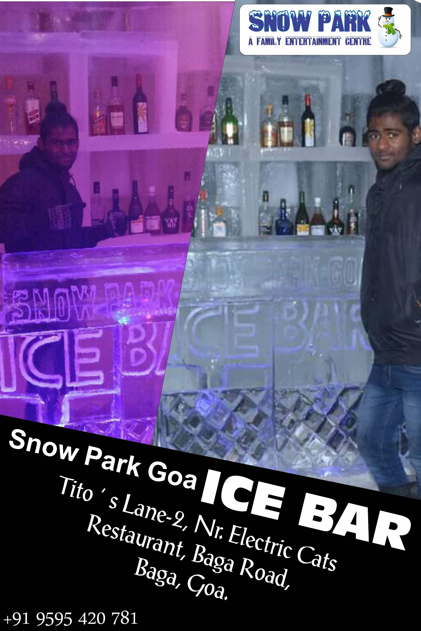So what plans this #Vacation ? How about chilling @ Snow Park