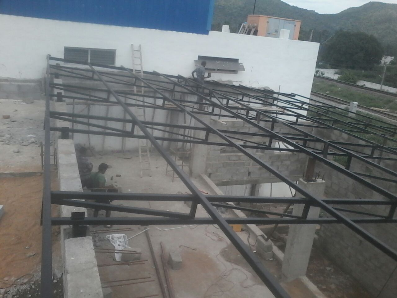 Structural Roofing System  roduct Description: In order to keep pace with the never ending demands of customers, we are involved into offering wide range of Structural Roofing System.  Features:   Quality approved Elegant finish Easy to install    Structural Roofing System In Thambaram