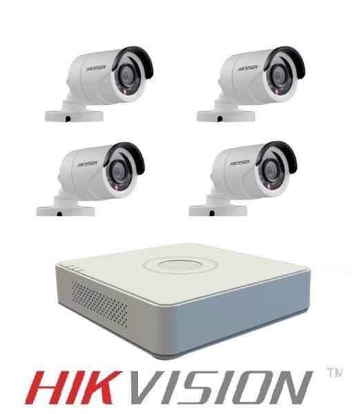 Hikvision 4 CCTV Cam