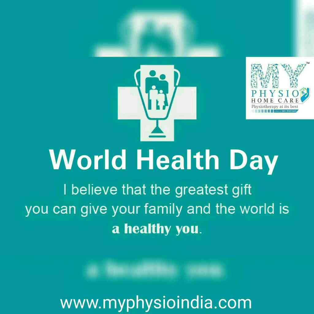 we believe that the greatest gift u can give your family and the world is A HEALTHY YOU  #worldhealthday #myphysio #healthiswealth