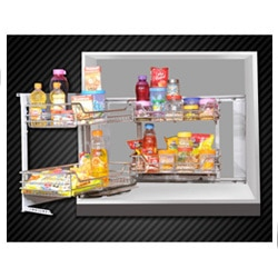 We are manufacturer of Stainless Steel Kitchen Basket in veraval shapar rajkot gujarat india   We are an eminent Manufacturer, Supplier and Exporter of a commendable array of Kitchen Equipment. Our offered array includes Kitchen Basket, Hinges, Stainless Steel Hinges, Stainless Steel Cabinet Handle and more. The entire offered range is manufactured using finest quality components and employing advanced technology at our sophisticated manufacturing facility. This facility has emerged as the strongest pillar of our company thus helping us to attain a remarkable position in the industry within short period of inception. Our clients located all over the globe appreciate our offered range for their smooth surface, excellent finishing and dimensional stability.