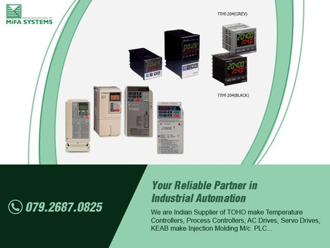 Mifa Systems is leading supplier and distributor of Ac Drives with Brand name of Yaskawa to all over India.