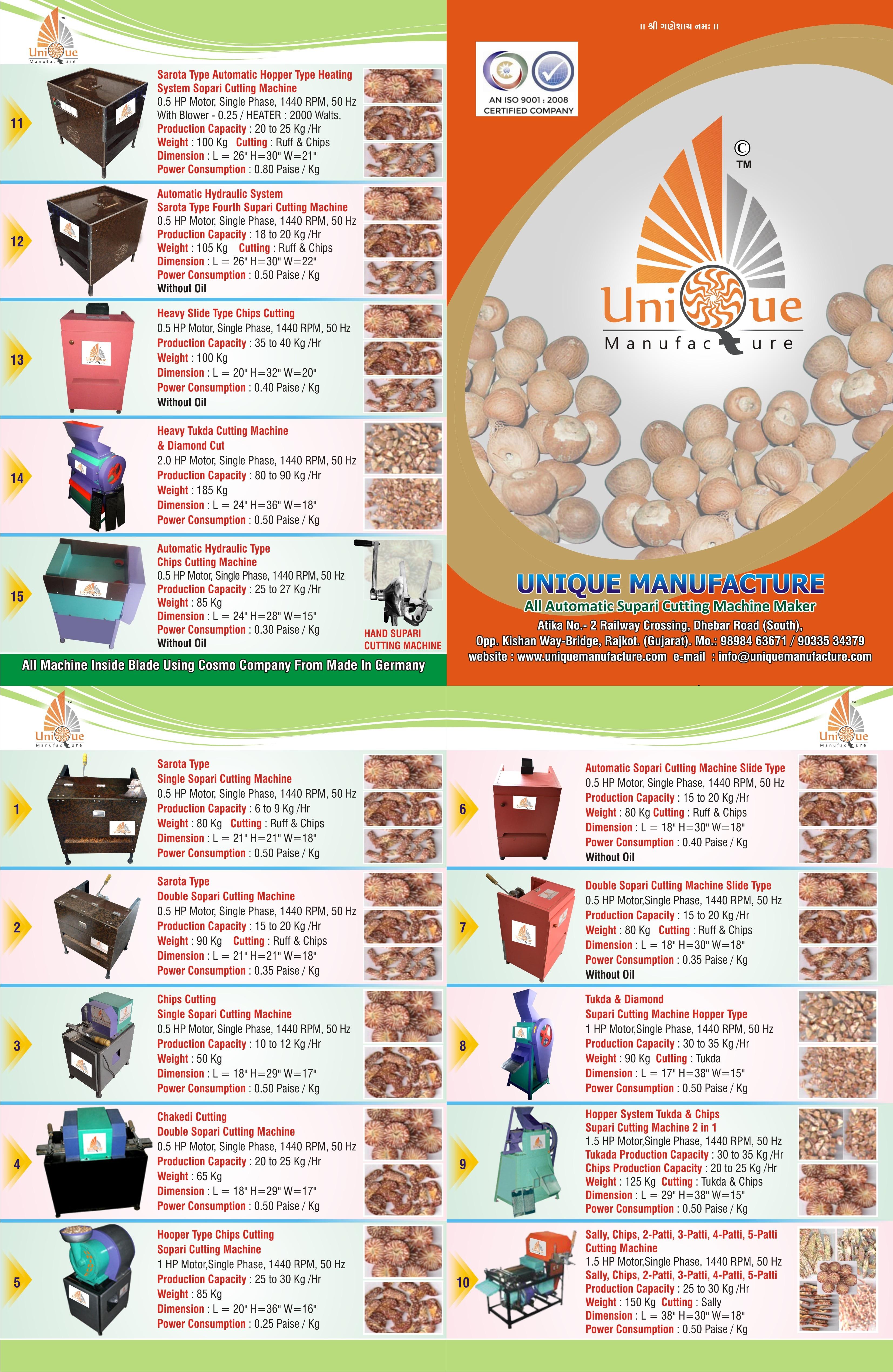 Bulk Feeding Betel Nut Cutting Machine manufacturer in Ludhiana