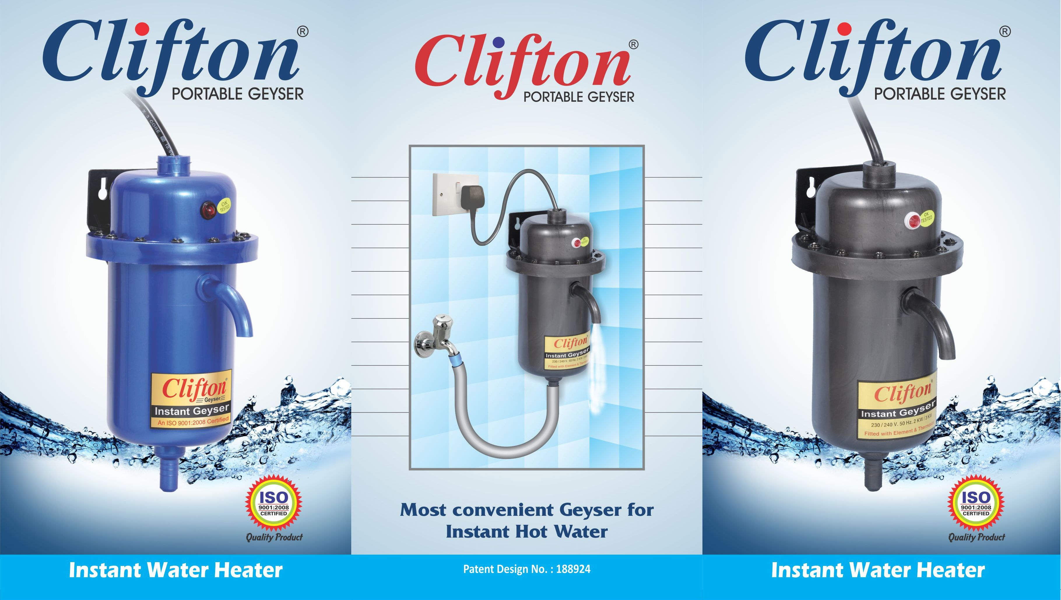 Instant Hot Heater : Clifton india indore in established the year