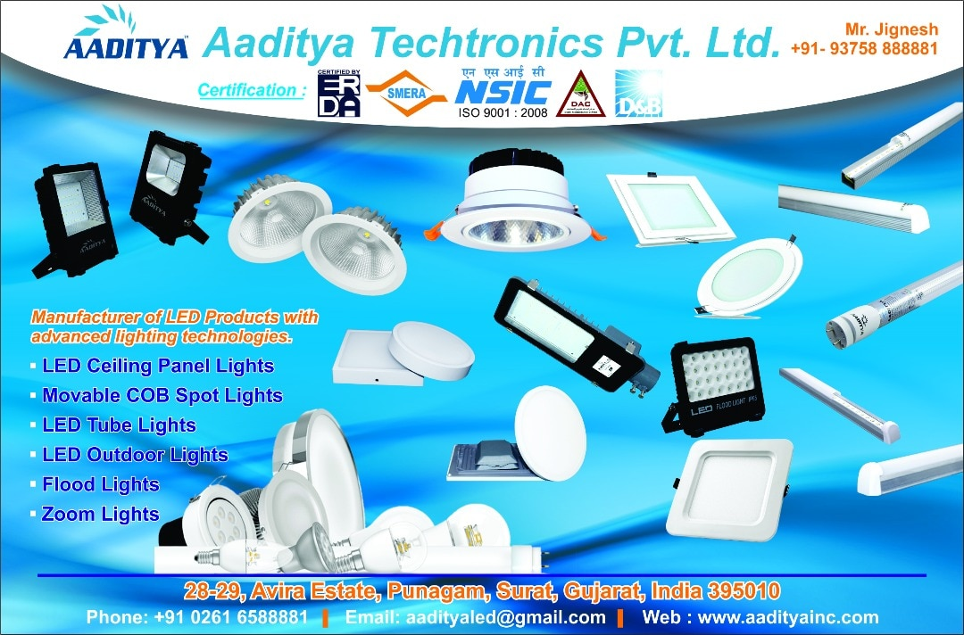 #Manufacturer of LED Lights Products with Advanced Lighting technologies.  sc 1 st  Aaditya Techtronics Pvt. Ltd. & advanced lighting technologies : Aaditya LED (Aaditya Techtronics ... azcodes.com