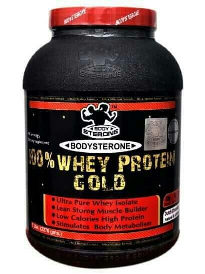 BODYSTERONE 100% WHEY PROTEIN GOLD