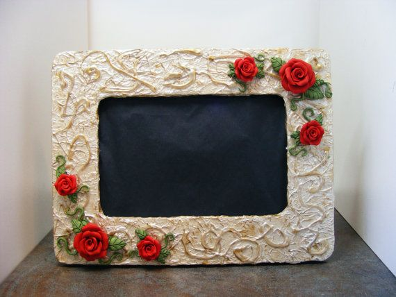 Handmade Photo Frame What better way is there : Mauve & Crimson ...
