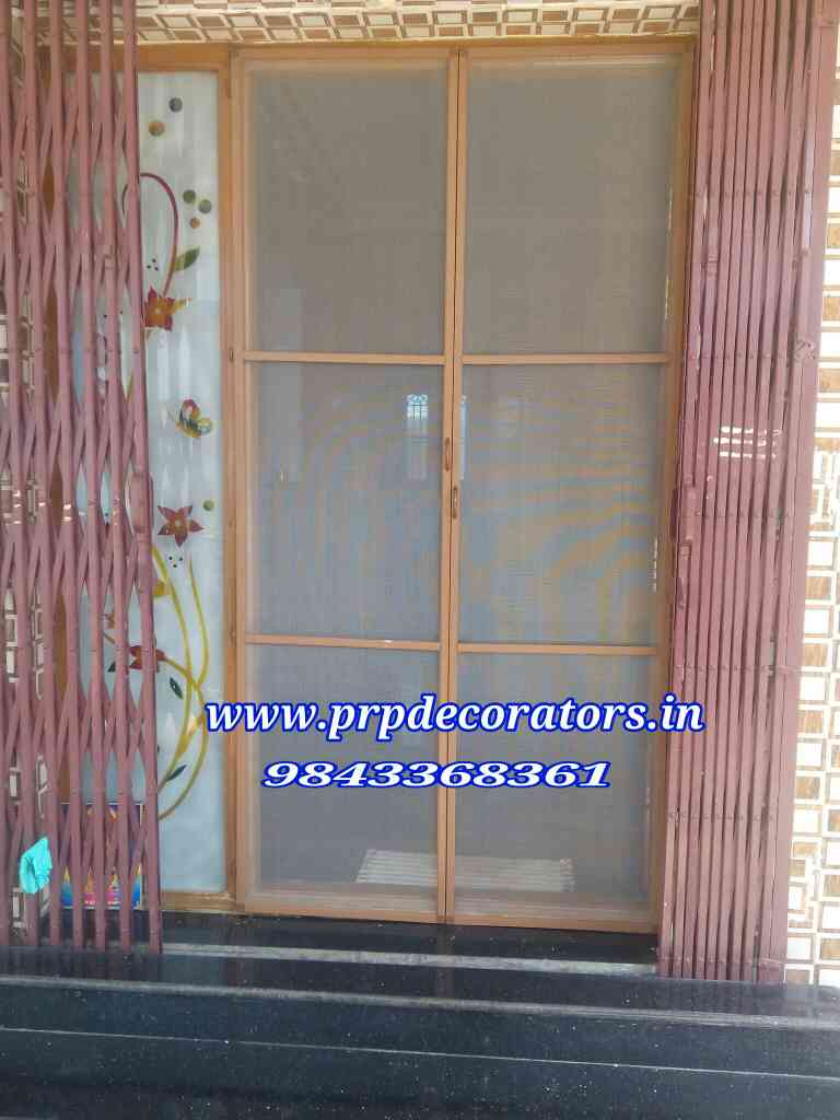 PRP DECORATORS are doing New Model Mosquito Net please visit  www.prpdecorators.in