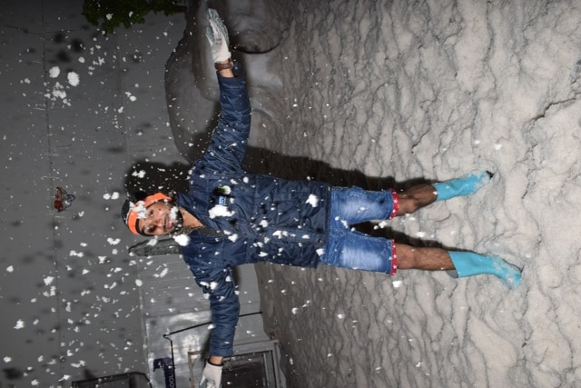 This summer play with some snow in Goa @Snow_Park_Goa