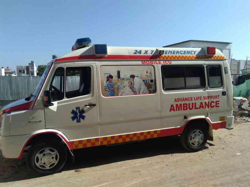 Mobile ICU ambulance..  Indian Ambulance service.. Very good service.. Call 9790896664