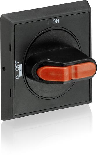 MSHD-LB 1SAM201920R1001 MSHD-LB Handles MSHD-LB Handle, IP64, black, 3 times lockable, defeatable, 0-I Suitable for Manual Motor Starter