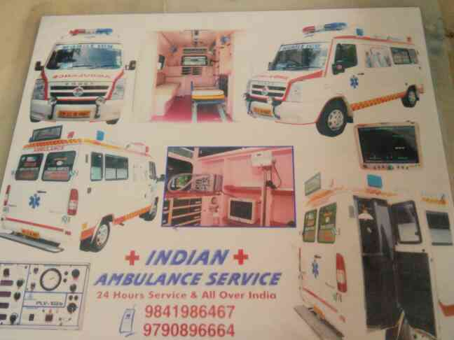 Indian ambulance services very good service