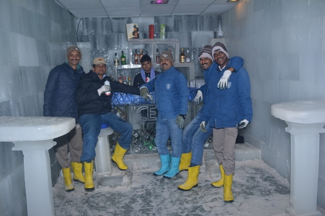 Goa has man unique places, #Snow_Park_Goa is one of that, and now it is pioneer of #ICE BAR in Goa