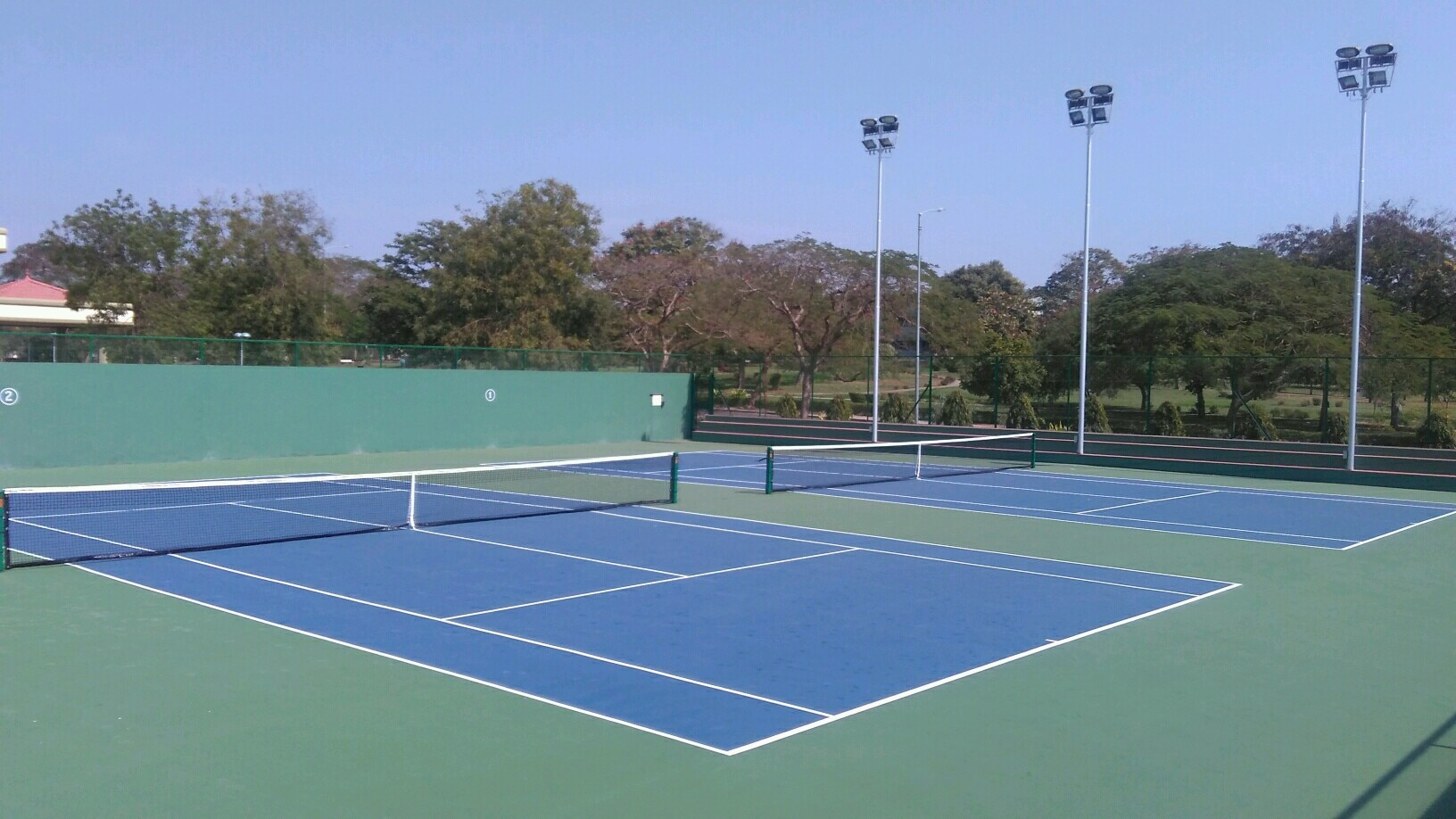 Excel Sports International is expertise for Synthetic surface coating of sports court like Tennis Court, Basketball Court, Athletic track etc.We used material of International quality and brand and we also provide warranty of 3 years for any king of damages is occur.<br/>Price starts 40 rs / Sqft for non cushion coating<br/>and 70 rs / Sqft for cushion coating<br/>Synthetic surface coating in India<br/>Synthetic surface coating <br/>Acrylic surface coating