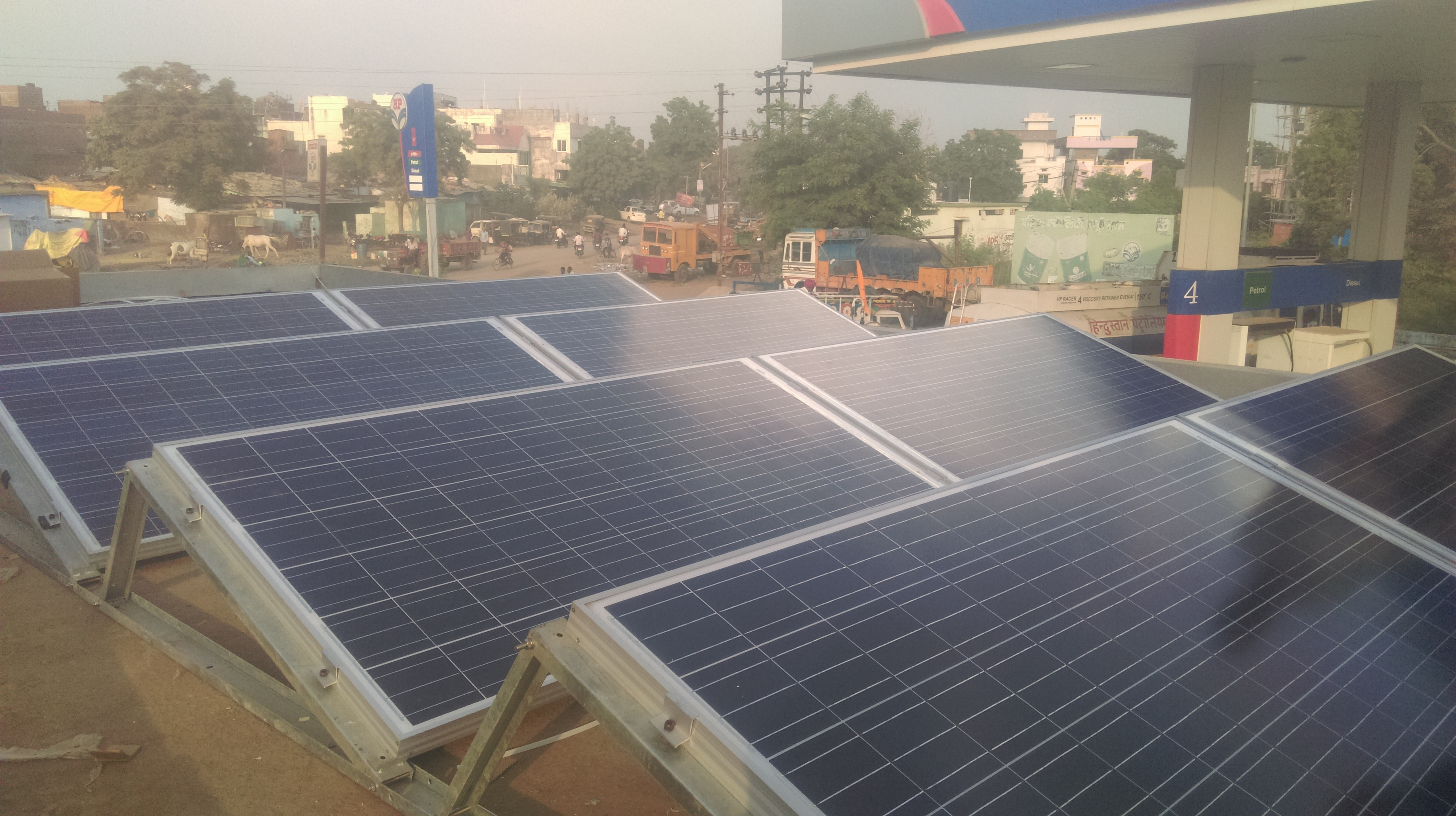 Generate power by using TATA POWER SOLAR system.We are MNRE approved company and certified vendor by MPEB for NET METERING policy in MP. From application for Net Metering to Installation of Solar Power System under on roof please contact us