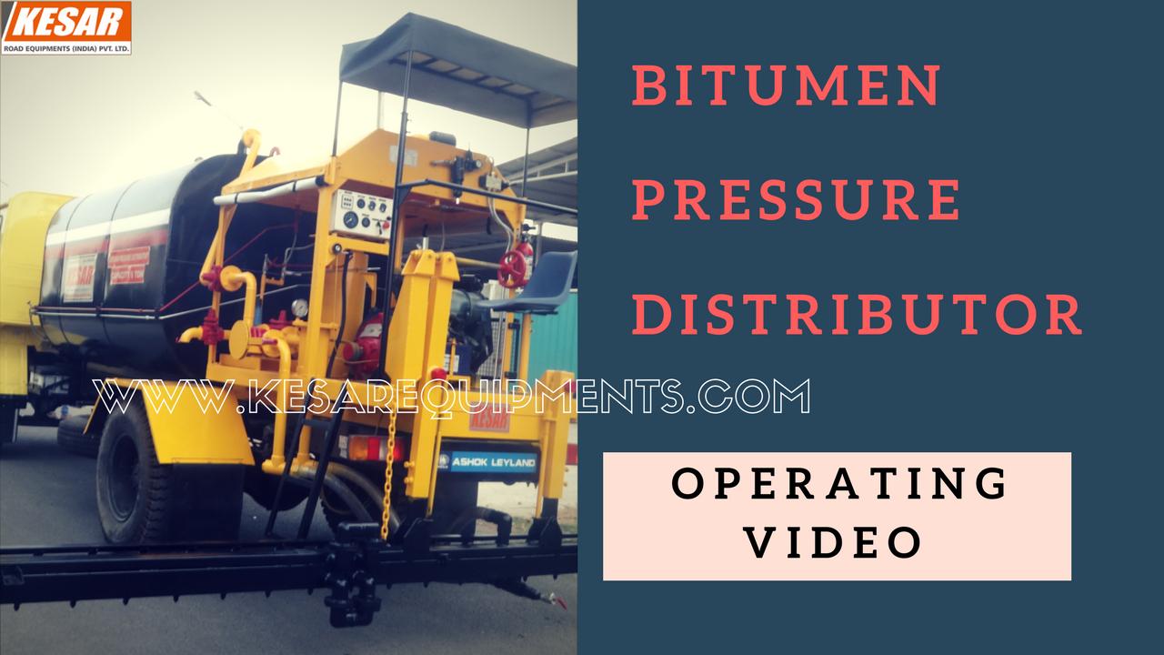 Bitumen Pressure Distributor (BPD) Manufacturer And Supplier In Maharashtra, Tamilnadu, Kerala, Etc.  Kesar Road Equipments Manufacturer Of Bitumen Tank, Bitumen Sprayer machine in Mehsana, Gujarat, India.  www.kesarequipments.com