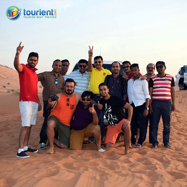 "Sharing some happy moments of our customers - ""Corporate Trip to Delightful Dubai"" who availed Dubai Tour Package from Tourient."