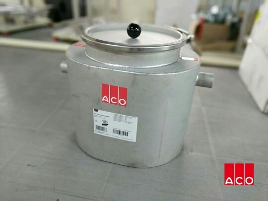 A significant problem for kitchen and food preparation areas is the collection of fat, oil and grease (FOG) within the drainage system. ACO has a solution for it. Lipu-Mobil Grease separators, these are generally used in small set ups like :  Mobile snack bars Mobile dishwashers  MK Plumbing World 9824018996