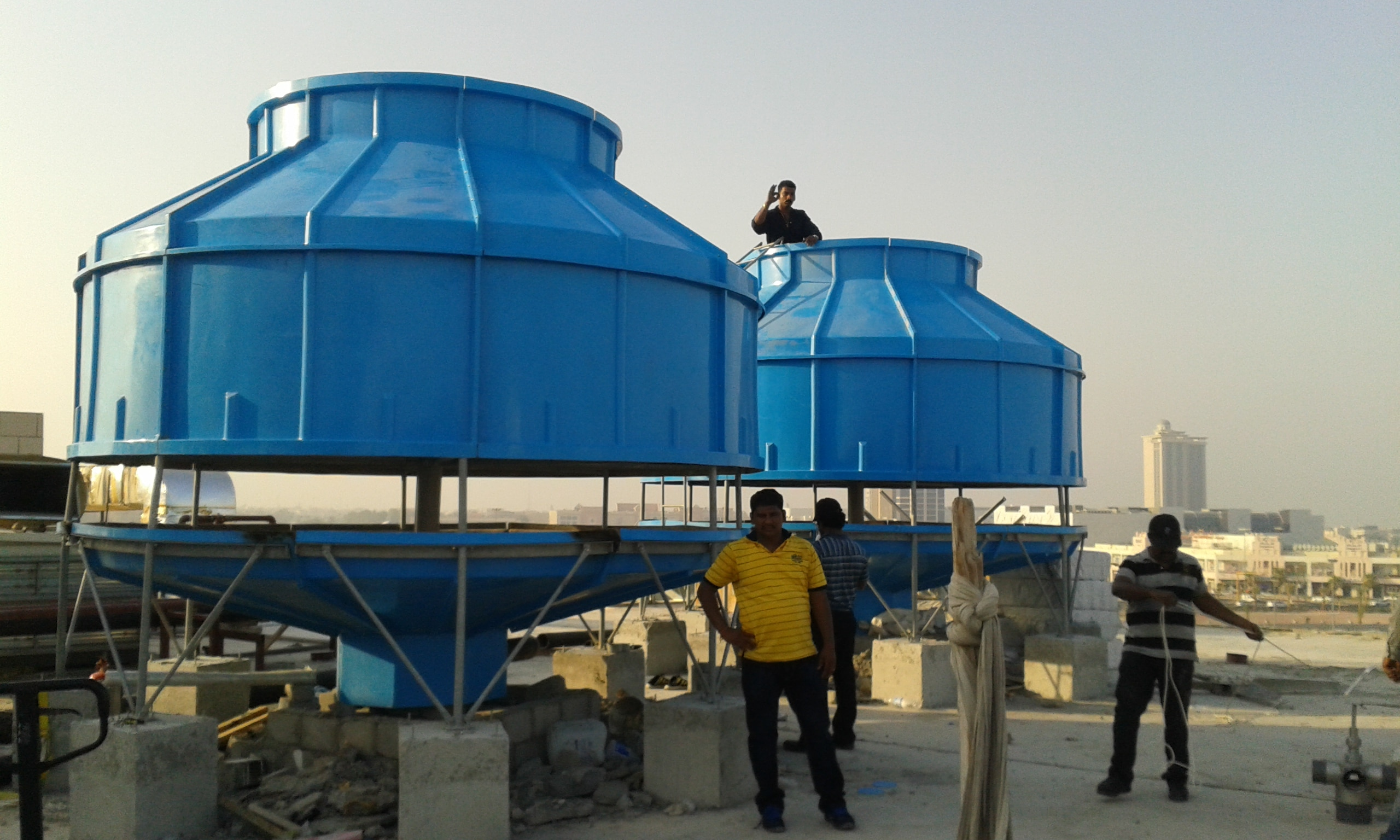 Economical Industrial Cooling Towers   We are successfully leading manufacturer, supplier and exporter of a range of Economical Industrial Cooling Towers in Coimbatore, Tamil Nadu, India