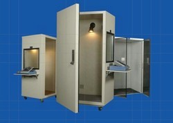 "Audiometric Room Manufacturers In Coimbatore  Specification:  Large doors for easy double acoustic window - Unitized all weld construction carpeting  vibration   2"" thick overlapping door - Window – 23"" x 23"" (584 x 584mm)  Audiometric Room Manufacturers In Tirupur Audiometric Room Manufacturers In Salem Audiometric Room Manufacturers In Madurai Audiometric Room Manufacturers In Chennai"