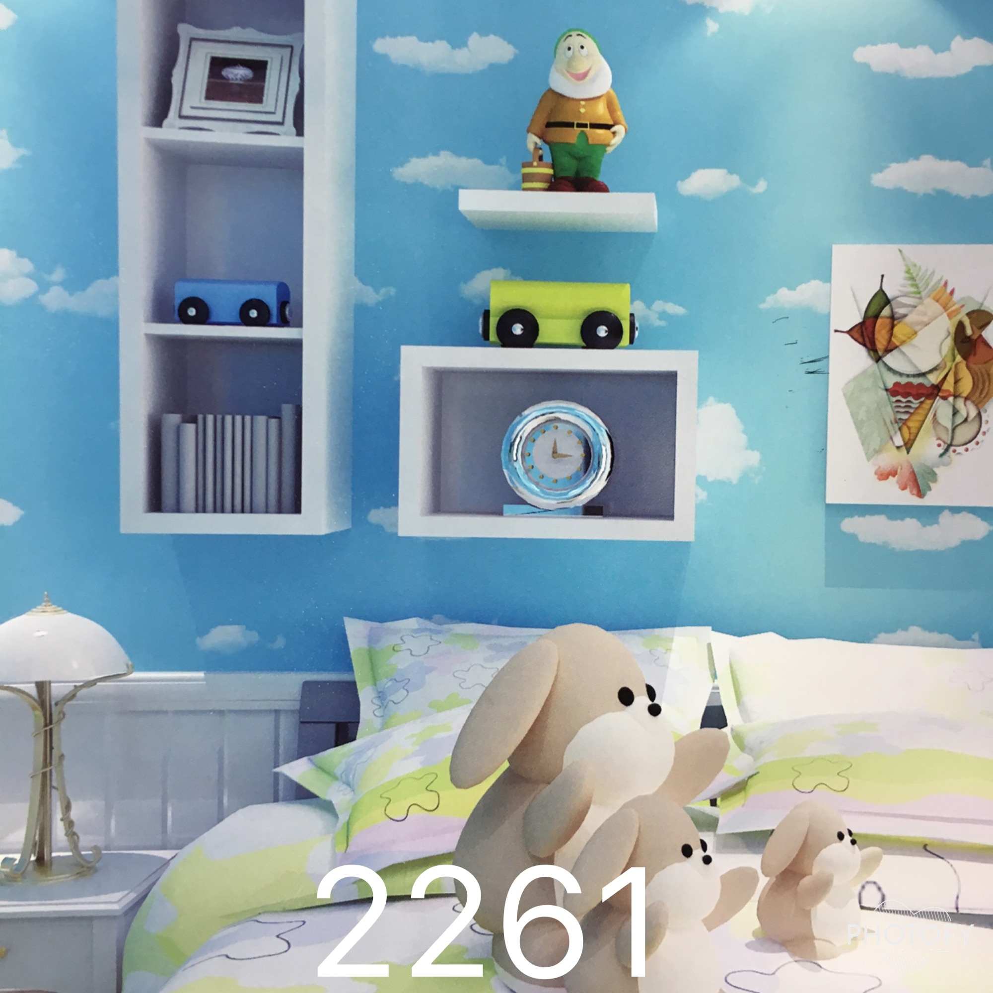 BEST IMPORTED WALLPAPER SUPPLIER IN DELHI  A  vision of fluffy clouds, beautiful stars & wonder of skies to give a soothing relax view to your eyes.