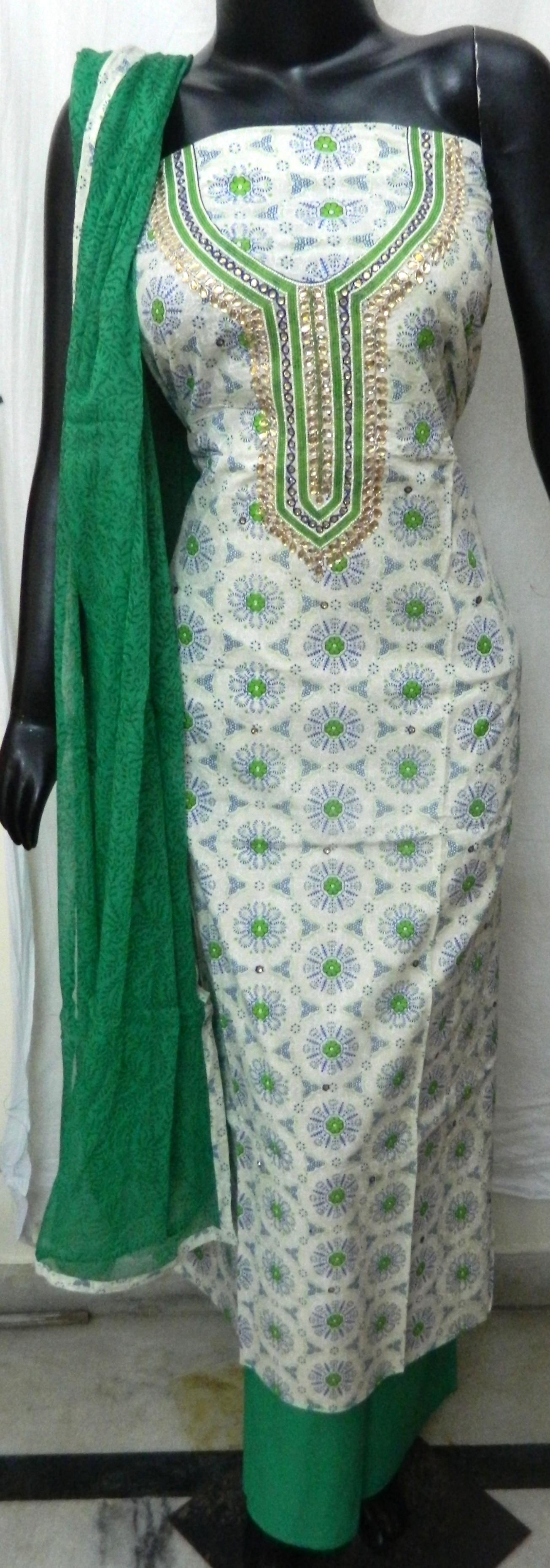 Aari Work Salwar suits - Aari Work Suits Manufacturer from Jaipur