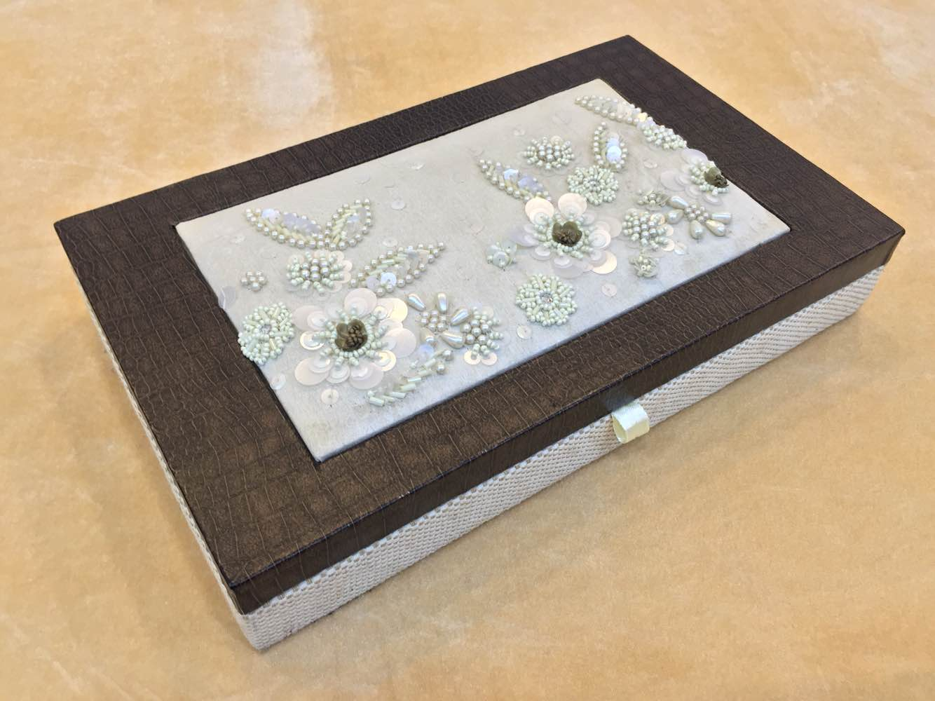 Beaded Dry Fruit Box  We are leading manufacturer, supplier and wholesaler of Beaded Dry Fruit Box