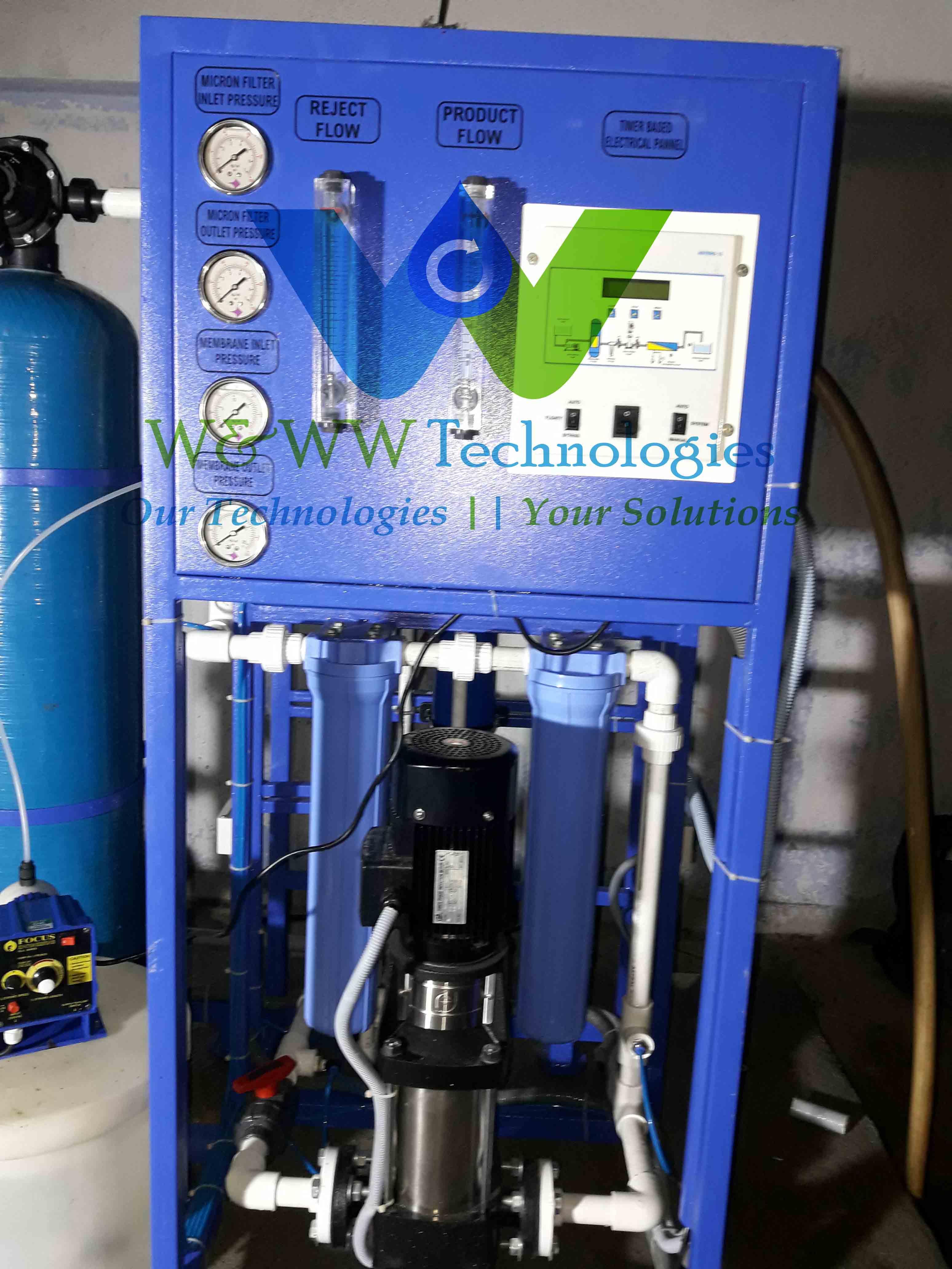 reverse osmosis W&WW Technologies in Chennai India
