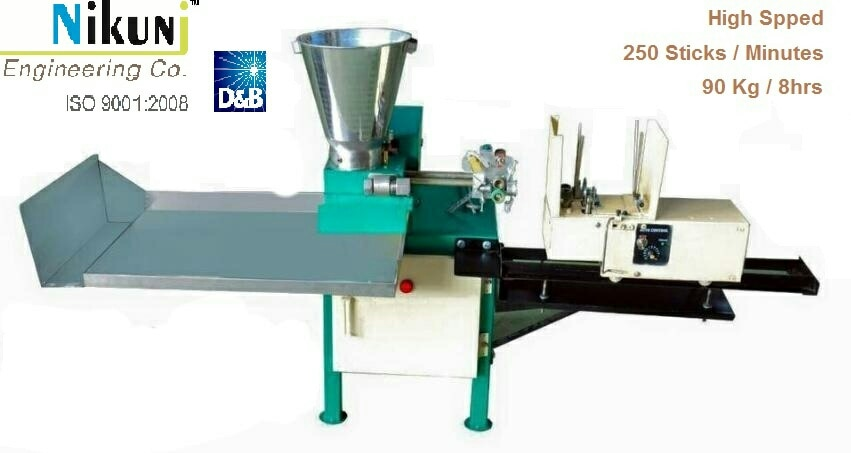 we are leading manufacturer of Agarbatti making machine manufacturer  in india.