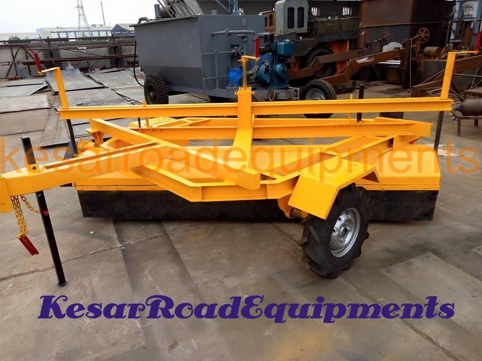 Hydraulic Broomer(Road Sweeper) Manufacturer And Supplier In AndhraPradesh, Kerala, Uttaranchal, Etc.  Kesar Road Equipments Manufacturer Of Asphalt Road Equipments Machinery In Mehsana, Gujarat, India.  www.kesarequipments.com