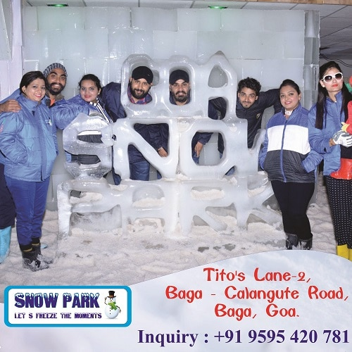 Enjoy Snowpark Goa and relive your best moments of life. Visit Today! To know more contact: +91-9595 420 781