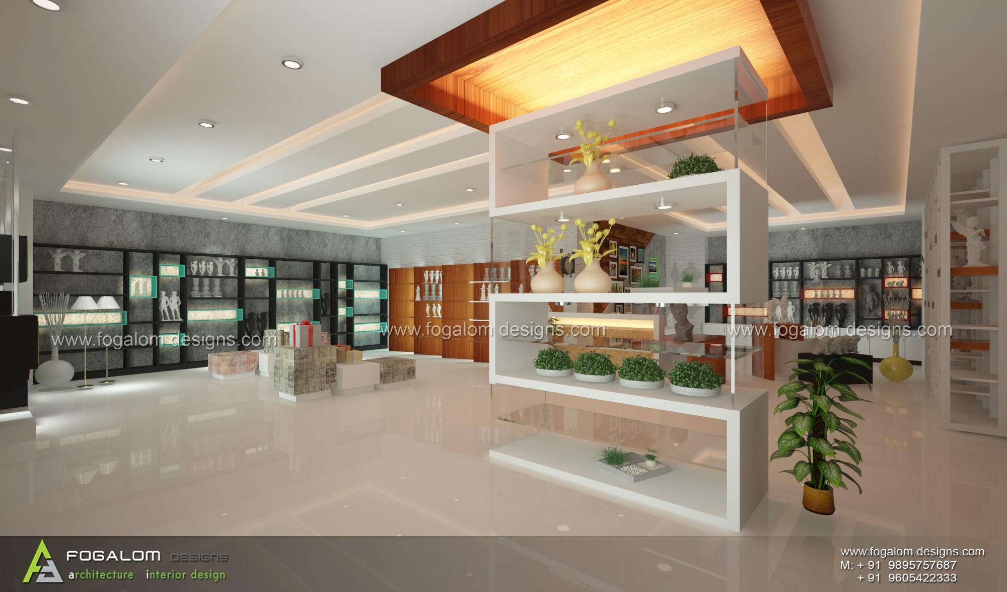 Car interior kochi - Showroom Interiors Kochi Ernakulam Kerala Designers Fogalom Designs For More