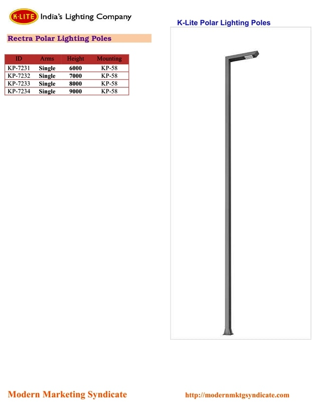 Polar Lighting Pole 6