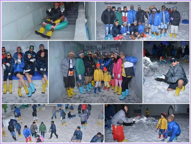 Let it be any session, the #Snow_Park is only place where fun never ends in Goa