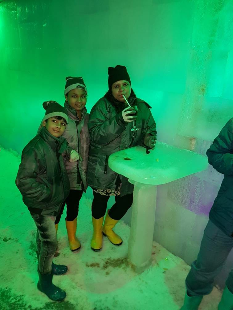 A photo is a moment, taken from, time, and given to infinity.   #Snowpark #Goa #icebar Open In Monsoon #Thunder #DJDANCE #Realsnow