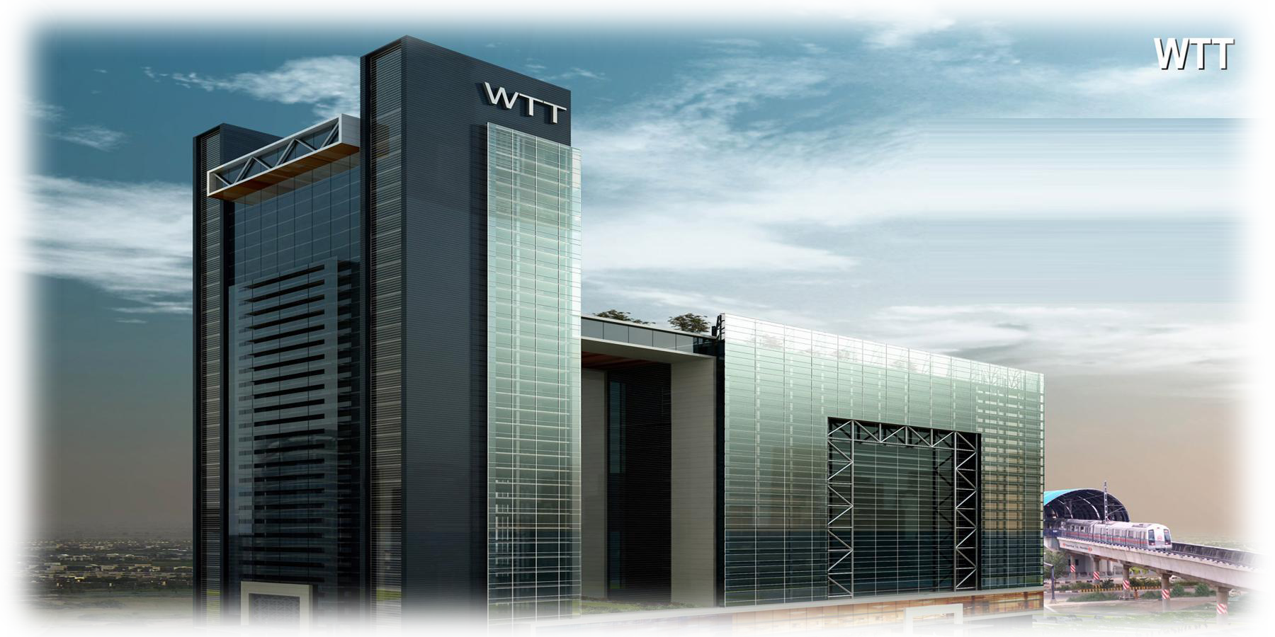 2546 sq. ft. Commercial Business Office available for Lease in World Trade Tower, Noida. The Office Building complex is located right opposite Noida Sector 16 Metro Station.  The building is on Delhi Noida Direct Flyway and is Easily Connected to South Delhi and East Delhi. WTT, Noida is Ready For Fit-Outs and Already Occupied by several MNCs.  Reach us at 9810810142 for customized requirements.