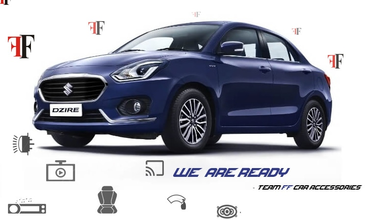 New Suzuki Swift Dzire 2017 accessories arrived at ff car accessories visit our store and get the latest update on all accessories for Swift Dzire 2017. We are pioneer in car accessories  and best in car seat cover & car modification