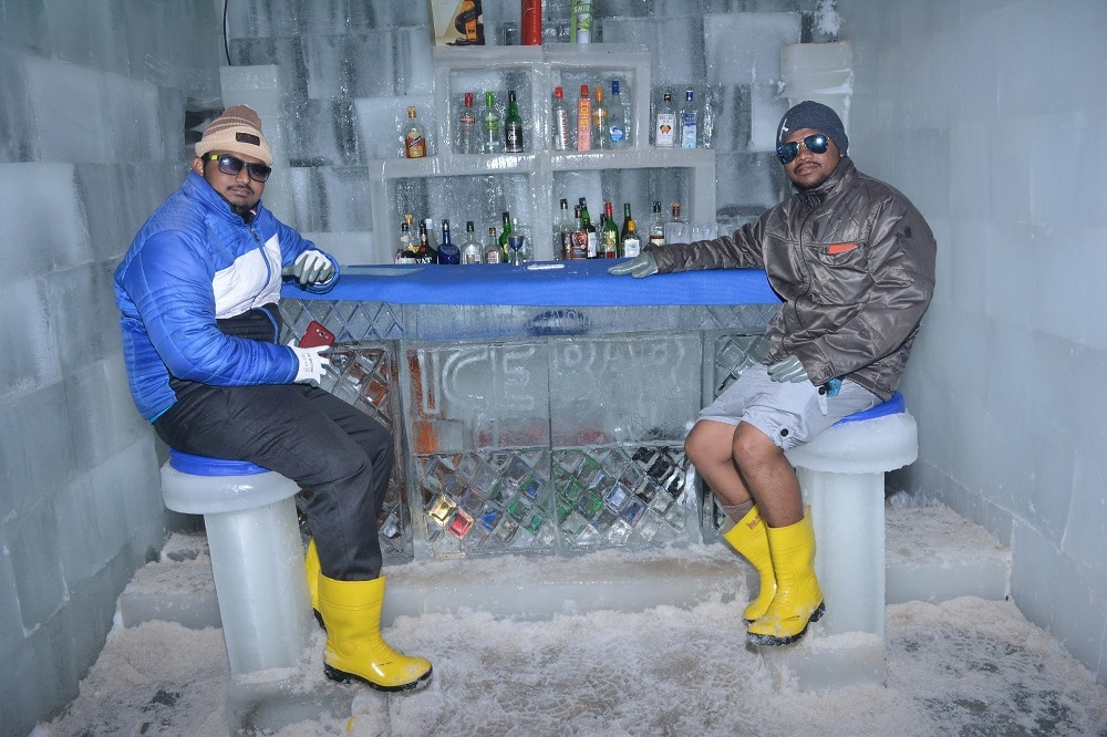 It's All About Having Fun and Smiling and Playing in Snow Park Goa.  More Detail Call us at +91-9595420781