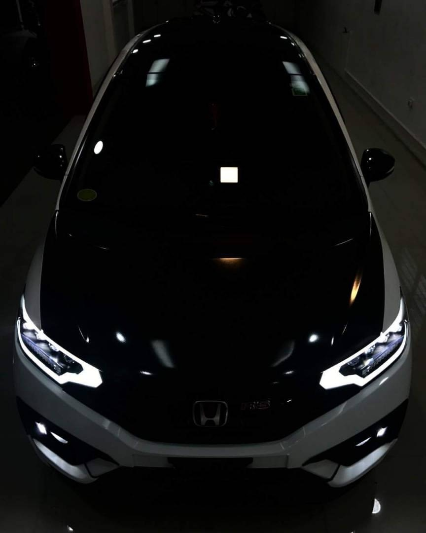 new honda jazz with led headlights..