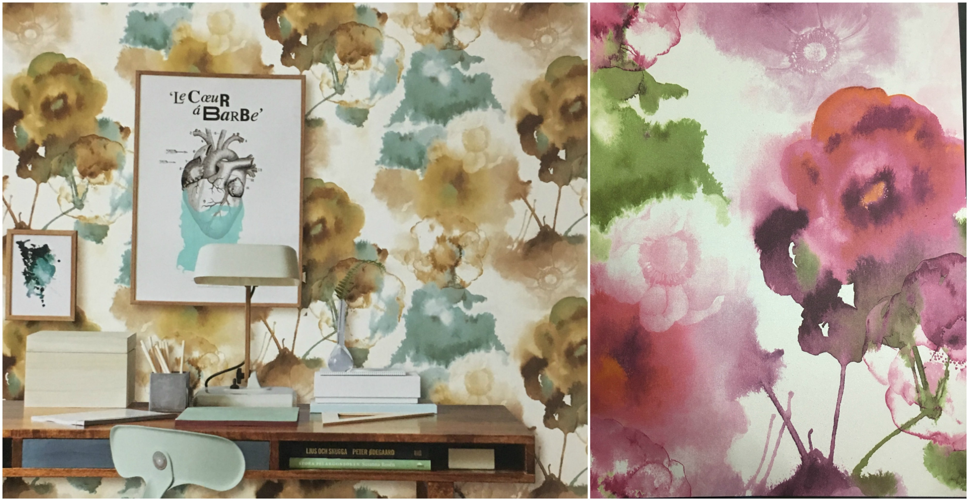 CAVALLI Imported Wallpaper Supplier  A White Base with Floral oil painting texture specially designed for your beautiful walls. Buy this for natural look of wallpaper.  To Buy Call us