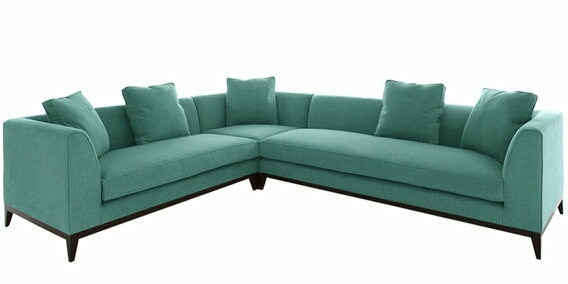 L Shape Sofa Home Furnishing And Decor Furnish your living space with stylish and comfortable sofa Costomised Sofa Leather And Fabric Sofa Available at chandrafurniture.com Vaishali Nagar, Jaipur