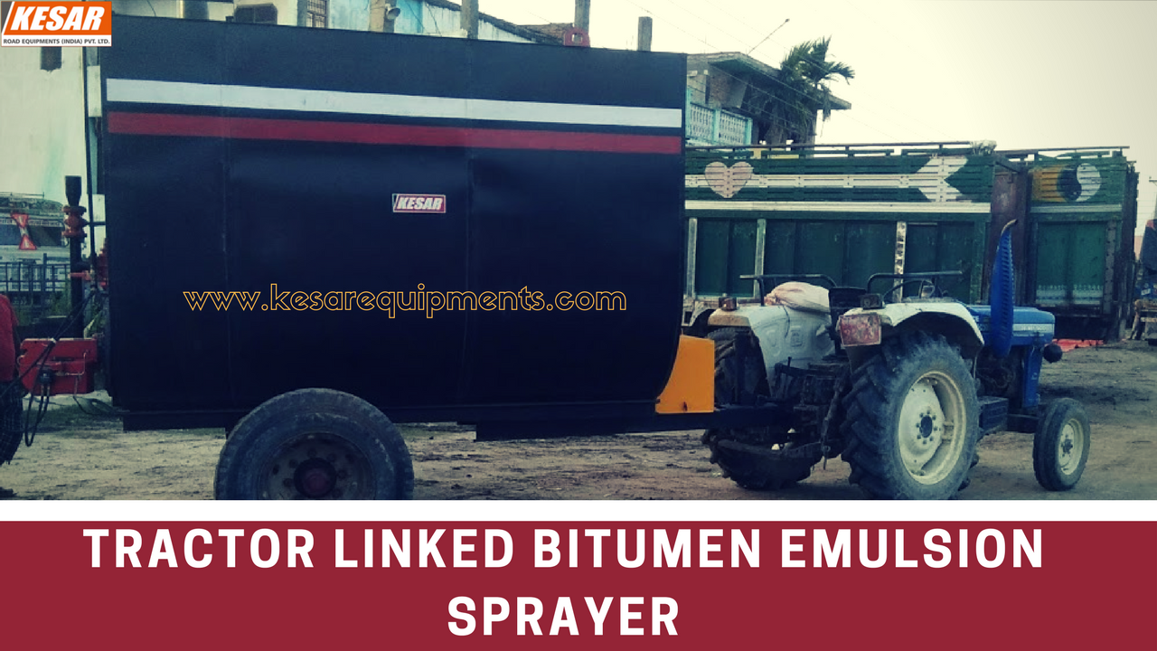 Bitumen Emulsion Sprayer With High Compressor For Road Dust Cleaning Manufacturer And Supplier In Maharashtra, Tamilnadu, Etc.  Kesar Road Equipments Manufacturer Of Road Construction Machinery In Mehsana, Gujarat, India  www.kesarequipments.com