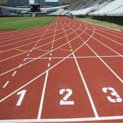 Professional Athletic Track  We Sundek Sports Systems are manufacturers of Professional Athletic Track in Mumbai.  As well as in India. The Professional Athletic Track surfaces are globally recognized. The Professional Athletic Track is IAAF (International Association of Athletics Federations) approved and is totally environmentally friendly. Our Professional Athletic Track is a pre-fabricated rubber athletic tracks and is a new technology and is replacing the old PU track. It is embossed one-time and workmanship gives the product very good quality. The biggest advantage of the pre-fabricated mat is that the rubber granules do not break off from the surface.   Features: Low maintenance Anti slippery Appealing look   Advantages being:   Strong resistance to water Shock-absorbent Excellent elasticity Anti-slippery Anti-aging