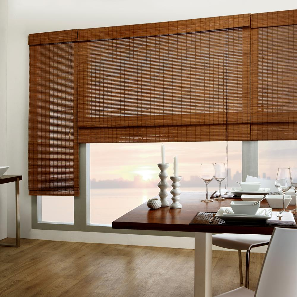 Bamboo Blinds - Window Covering Bamboo blinds are made up of natural ... for Bamboo Curtains Kerala  35fsj