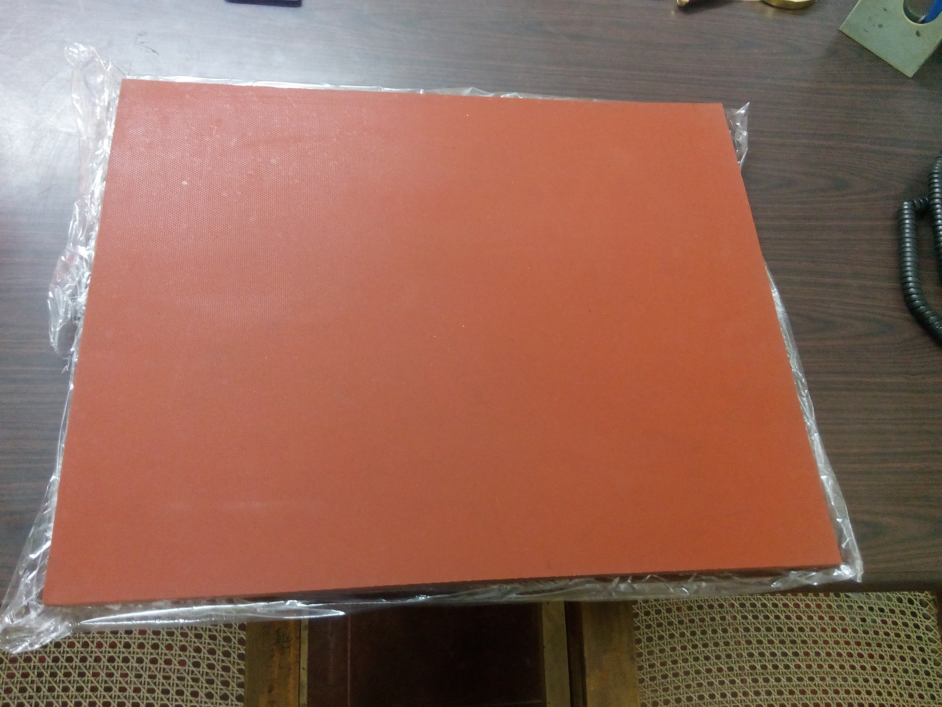 Silicon rubber sheet  Silicone Rubber Sheet-of size 420mmx520mmx12mm , 30