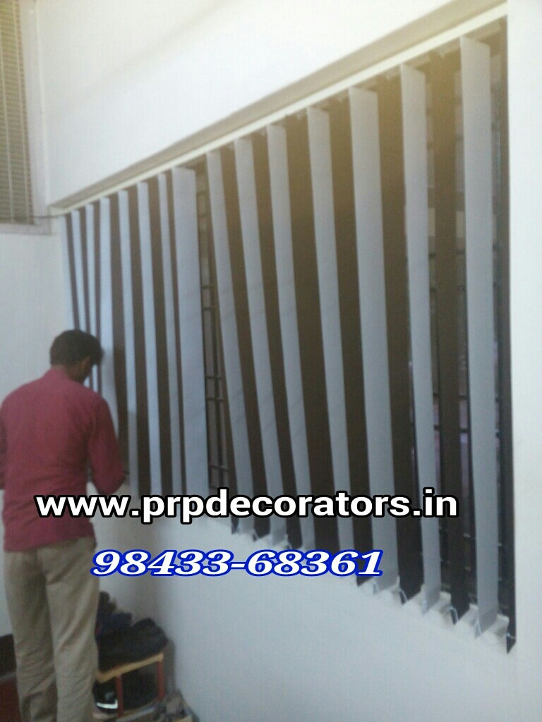 All type of Blinds Available  Vertical Blinds In Madurai www.prpdecorators.in