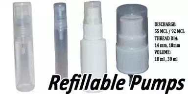 We also sell 5ml & 10 ml Testers /